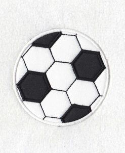 Soccer/Football Ball Applique