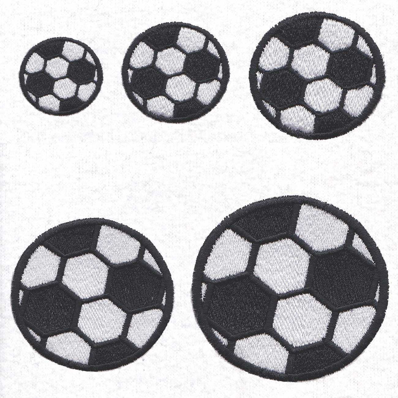 Soccer Ball - Couture Princess Embroidery