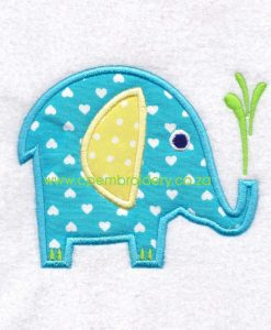 applique african animals zoo safari olifant elephant instant download machine embroidery design