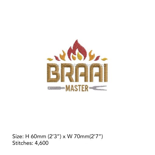 flames flamed top words braai master fork bbq grill machine embroidery download design file small