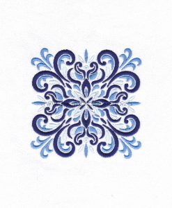 blue blocks decorative quilt quilting block embroidery designs pattern for machine number one 3 pillowcase duvet scatter cushion 78103