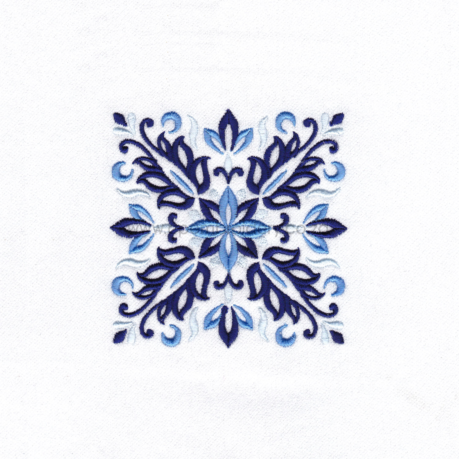 blue blocks mandala decorative embroidery designs pattern for machine number one 1 pillowcase duvet scatter cushion 78102