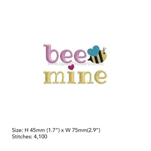 Bee mine bee bug heart wing blue wing bug be mine words